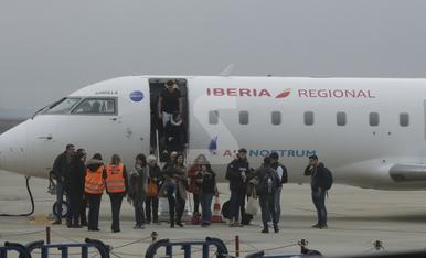© Volando a Palma pese a la niebla