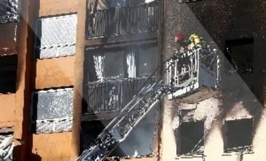 © Incendios mortales en Badalona y La Llagosta