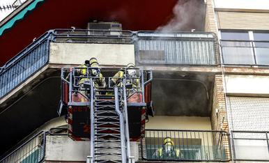 © Incendio en Pi i Margall