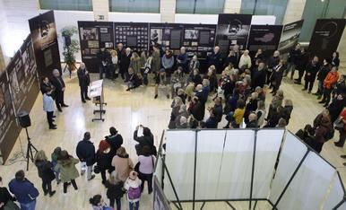 Exposició 'Imatges i memòria de Mauthausen' a Lleida