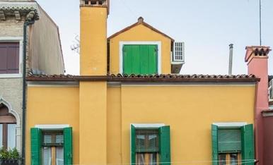 Burano, l'illa de les cases de colors.