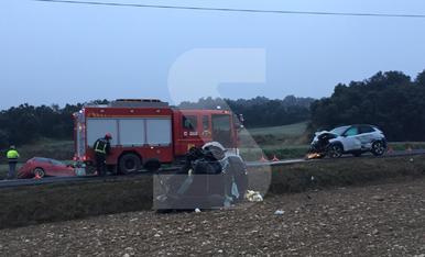 © Otra muerte en la carretera N-230