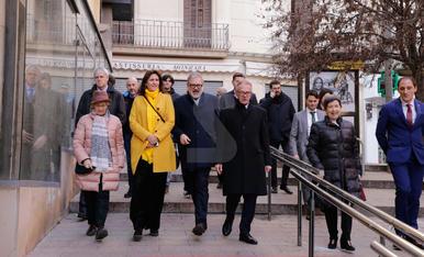 Inauguració de les obres del Museu d'Art de Lleida