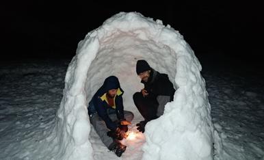 Resguardant-nos del fred a Vilaller