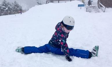 Espagat a la neu