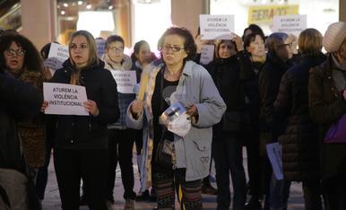 """© Cacerolada en Lleida: """"No es no"""""""