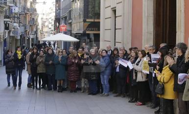 Protestas y concentraciones contra el juicio del 'procés'