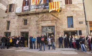 Protestes i concentracions contra el judici del 'procés'
