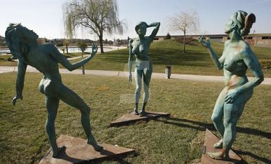 © Parc escultòric per a Almacelles