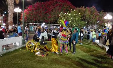 El meu carnaval de l'any passat a Arica (Xile) no l'oblidarem mai