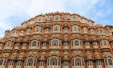 Hawa Mahal, India, 1799. El palau de les 1000 finestres.