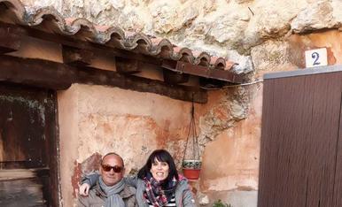 La Sandra amb el seu pare Ramon, sempre busquen moments per anar junts!!!! I s'estimen molt!!!!