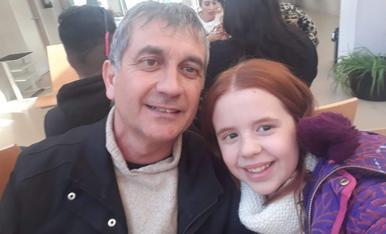 Hola soc la Judit... Aqui estic amb el millor pare del mon!!