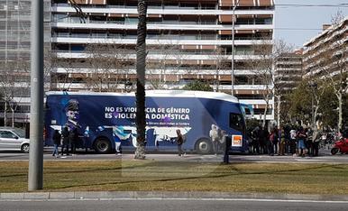 © L'antifeminisme d'Hazte Oír arriba a Barcelona