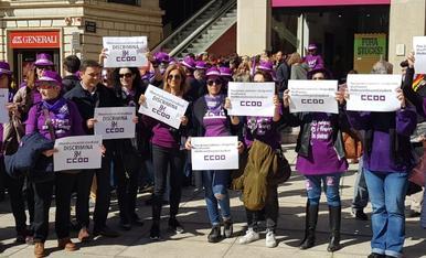 Actes del 8M a Lleida
