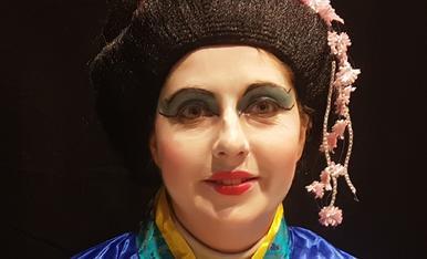 maquillanse com una Geisha.