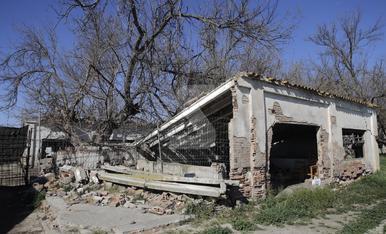 © La granja militar de Rufea, en ruinas