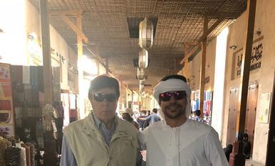 Els Joseps a Dubai. Presumint de pare arreu del món!