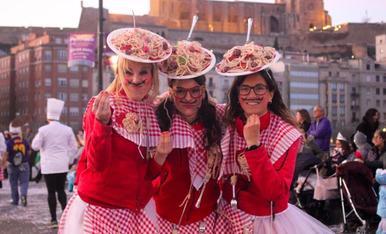 La Silvina, la Luci i l'Arianda son tres suculents plats d'espaguetis. Mama mia!!!