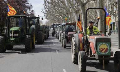 Tractorada de Unió de Pagesos