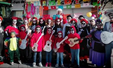 """""""COCO"""" de Som d'Andani al carnaval d'Alfarras 17/3/2019.Un dia molt divertit amb la colla,sou genials!!!!"""