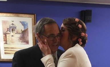 Aquest Abril farà un any que em vaig casar i el meu pare em va acompanyar. Ell ha sigut i es el meu professor en aquesta vida.T'estimo pare!