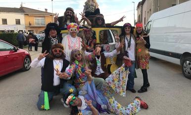 Happy flowers al carnaval de La Fuliola i Boldú