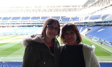 La meua mare i jo