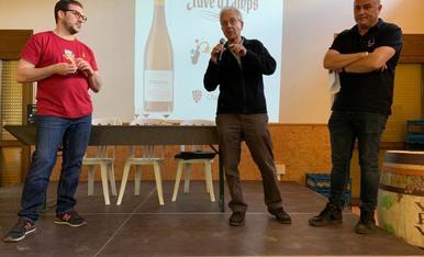 Tastavins Juneda col·labora amb 'Vi per vida'