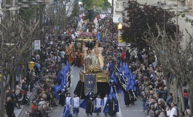 © Domingo de Ramos y procesión