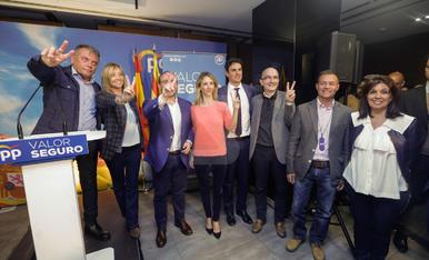 Visita de Cayetana Álvarez i Añejandro Fernández de Toledo a Lleida