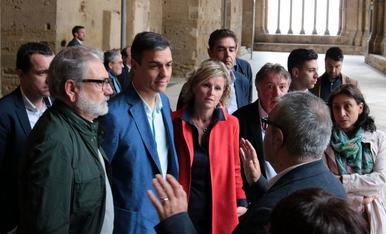 Visita de Pedro Sánchez a Lleida