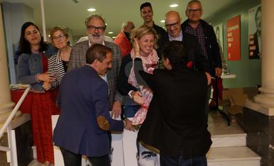 Eufòria a la seu del PSC de Lleida