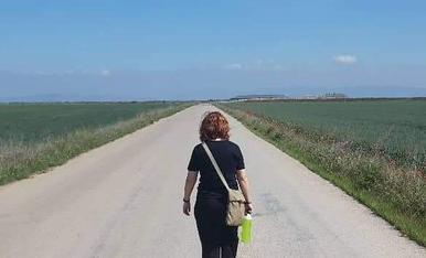 Un paseo agradable hacia el infinito.