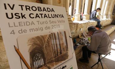 Trobada USK Catalunya a la Seu Vella