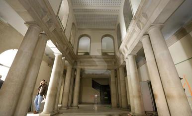Obres al nou Museu Morera