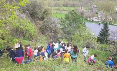 Voluntaris limpian el Parque Natural del Alt Pirineu