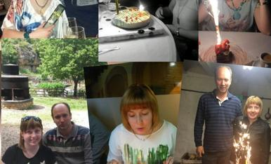 Els meus aniversaris 28,29,30,31,32,Magda Bach.