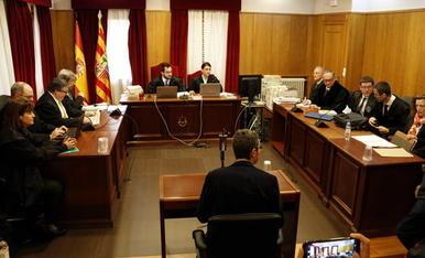 IMATGES. Judici a Barbastre per l'art de la Franja