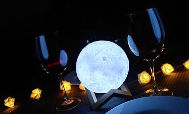 Així vam celebrar el nostre aniversari...si puguès et regalaria la lluna!