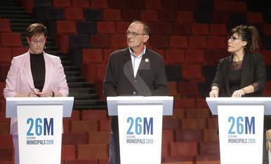 Debate entre los aspirantes a la alcaldía de Lleida