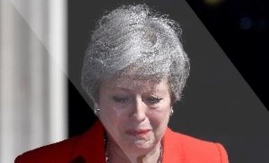 © Las lágrimas de May por el Brexit