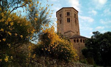 La ginesta ens presenta la història del castell de Ponts.pintor Xavier Gosé 7 2-4 25005