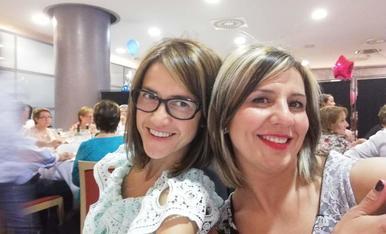 De comunio.. Estar amb la meva germana, ja es motiu de celebració.