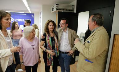 Satisfacció a les seus de JxCat, el Comú de Lleida i el PP