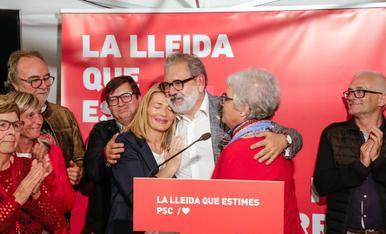 Decepció a la seu del PSC de Lleida