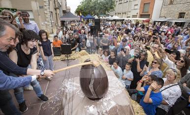 © Huevos a millares en Sant Guim