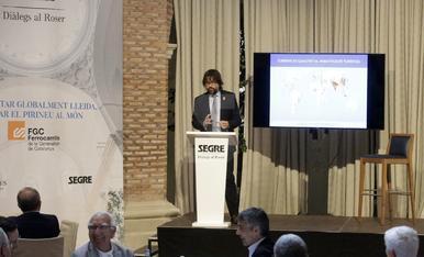 'Diàlegs al Roser' amb Ricard Font, president de FGC