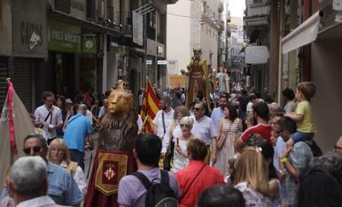 Fiesta del Corpus en Lérida