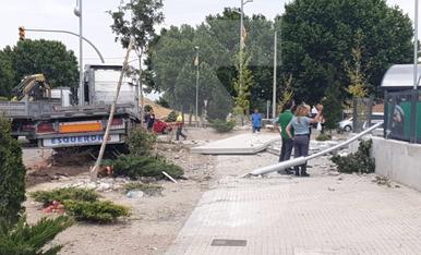 © Camioneros ebrios en Mollerussa y La Segarra